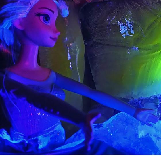 Leuchtwasser Eispalast Elsa