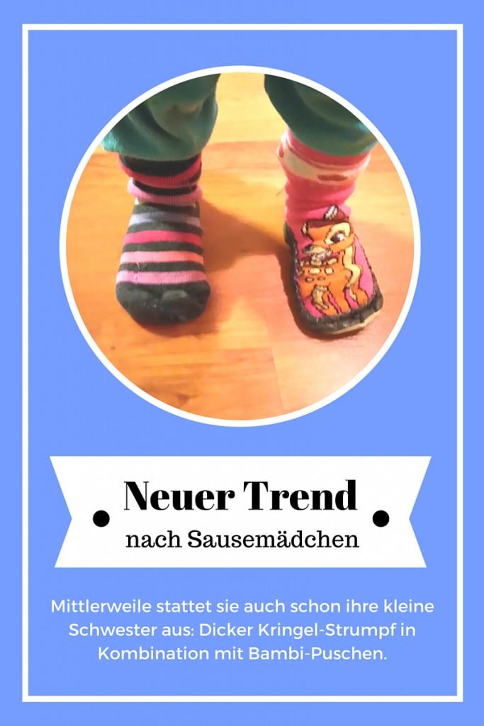 Trend unterschiedliche Socken