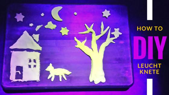 Leucht Knete Selber machen