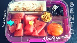 Bento Box Yumbox auslaufsicher mit Joghurt
