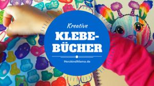 Kreative Klebe-Bücher Sticker-Bücher zum kreativ werden