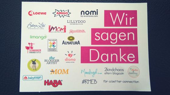 RheinMain Elternblogger Café Sponsoren