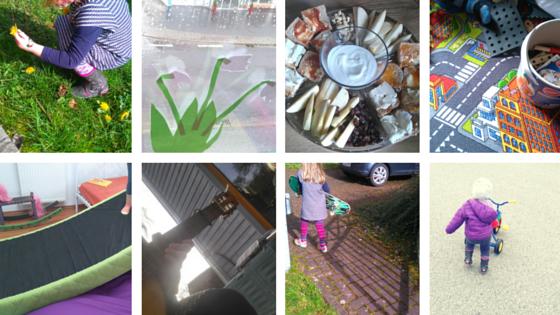 Aprilwochenende in Bildern