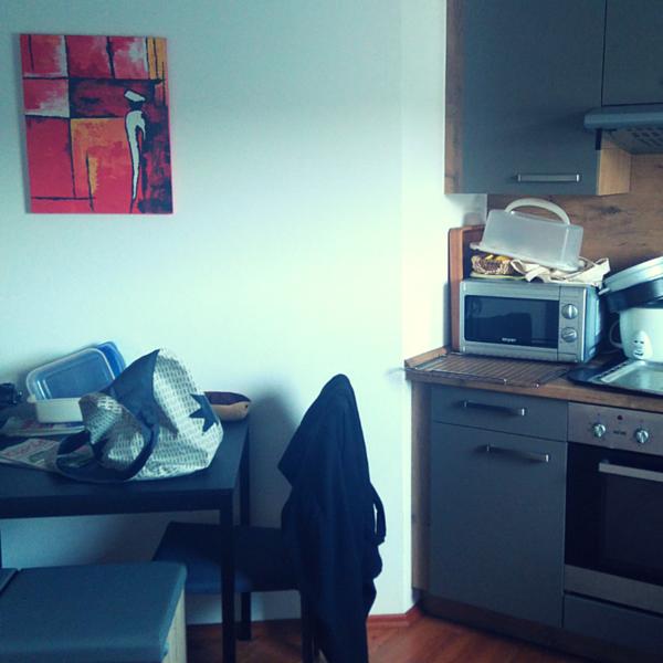 Ablageplatz küche