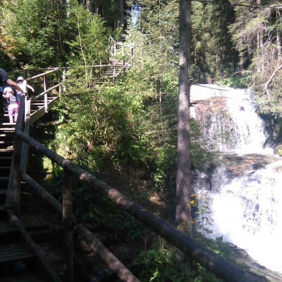 Wasserfall Graggerschlucht