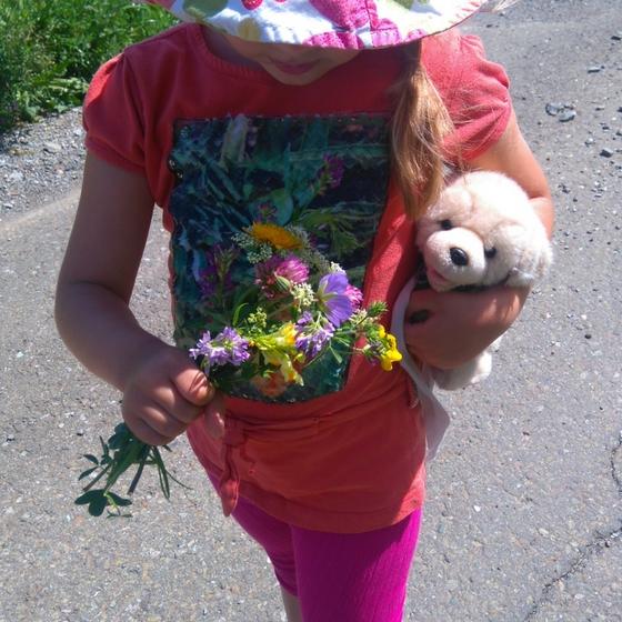 Wildblumen Strauß