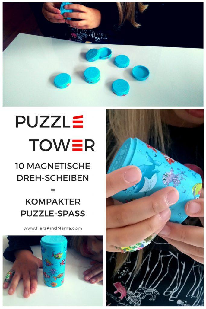 magnet-spiel puzzle tower für kinder und erwachsene