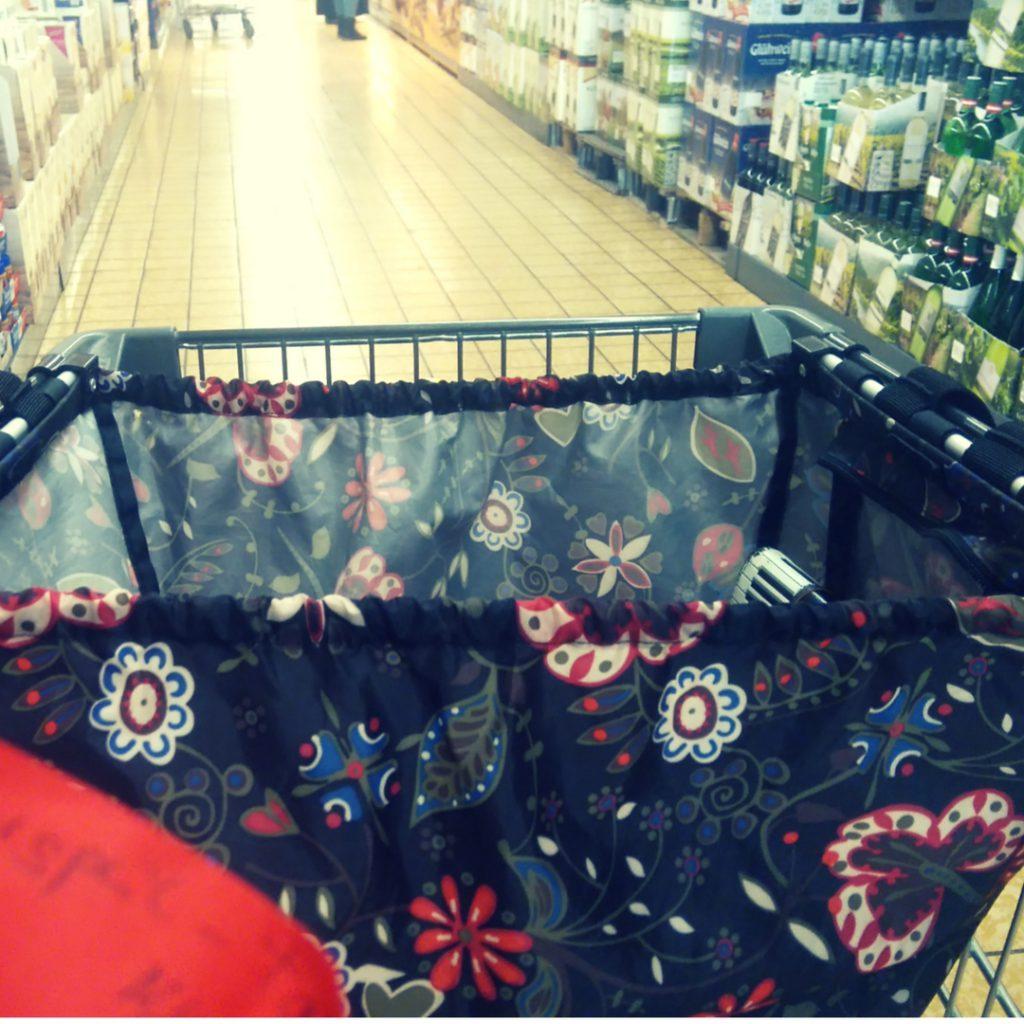 Einkaufswagen-Tasche