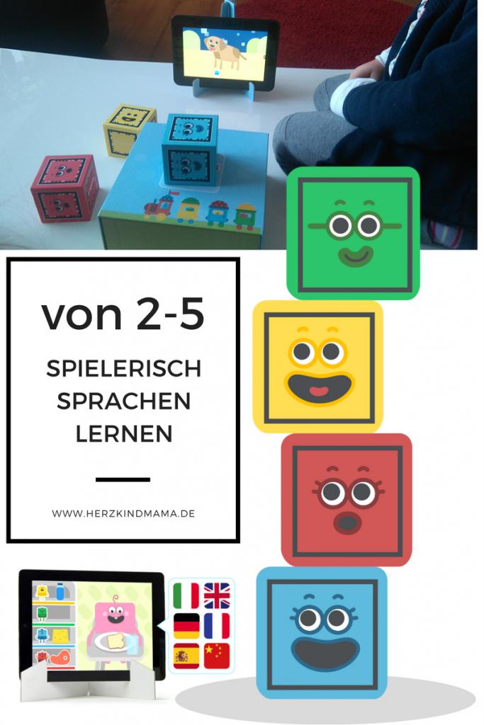 Sprach-Spiel Kinder von 2 bis 5 App interaktiv