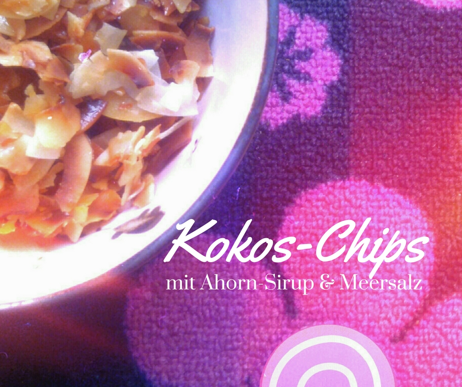 Kokos-Chips gebacken