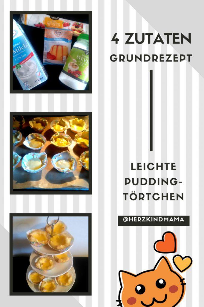 Puddingtörtchen aus 4 Zutaten