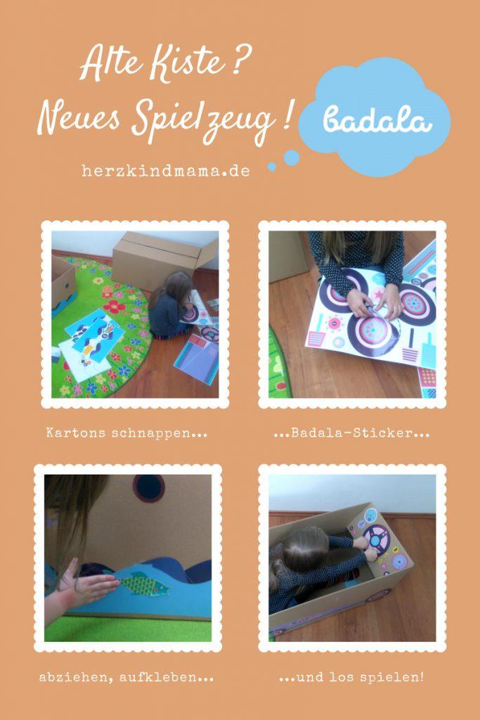 Spielzeugkiste Badala nachhaltig Upcycling Altpapier