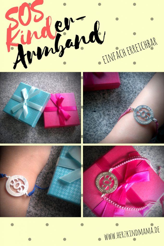 SOS-Armband für Kinder
