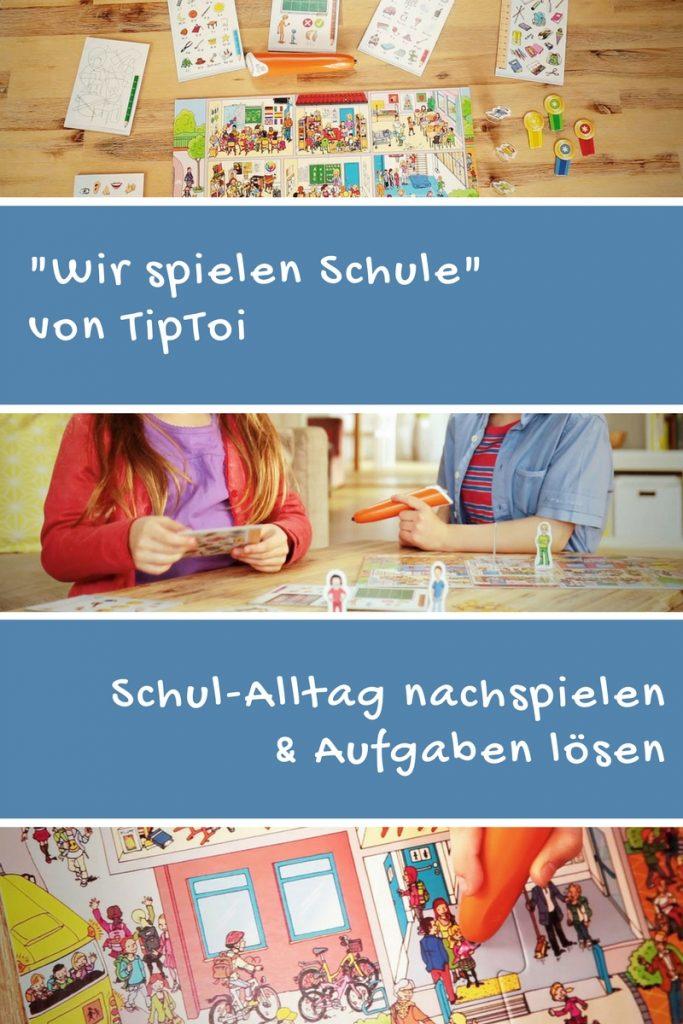 schulvorbereitung tiptoi spiel Wir spielen Schule TipToi