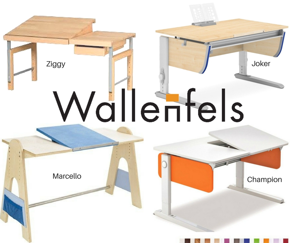 Arbeitsplatz für Kinder Wallenfels Schreibtische