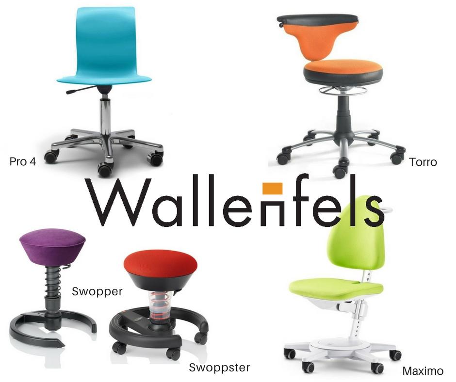 Arbeitsplatz für Kinder Wallenfels Schreibtischstühle mitwachsend