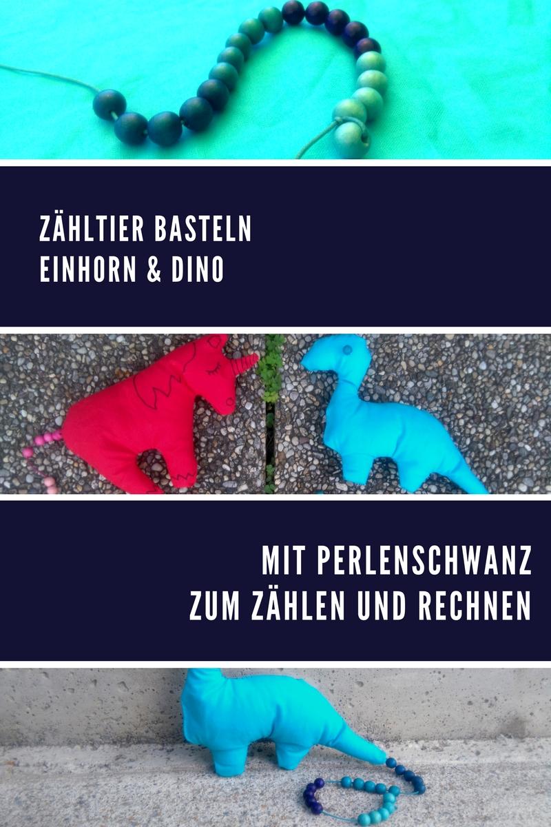 Zähltier Diy Einhorn Dino Vorlage Herzkindmamade