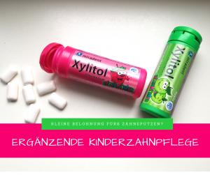 Zahnpflege ergänzung kinder kaugummi xylit xylitol