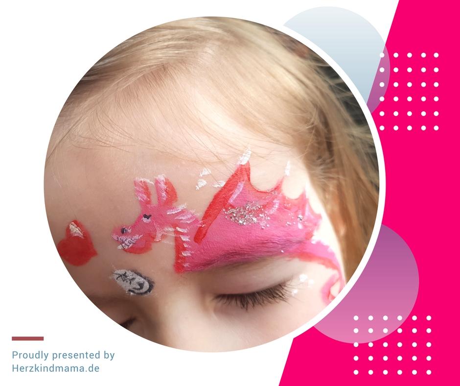 Kinderschminke Drache Fasching fantasy