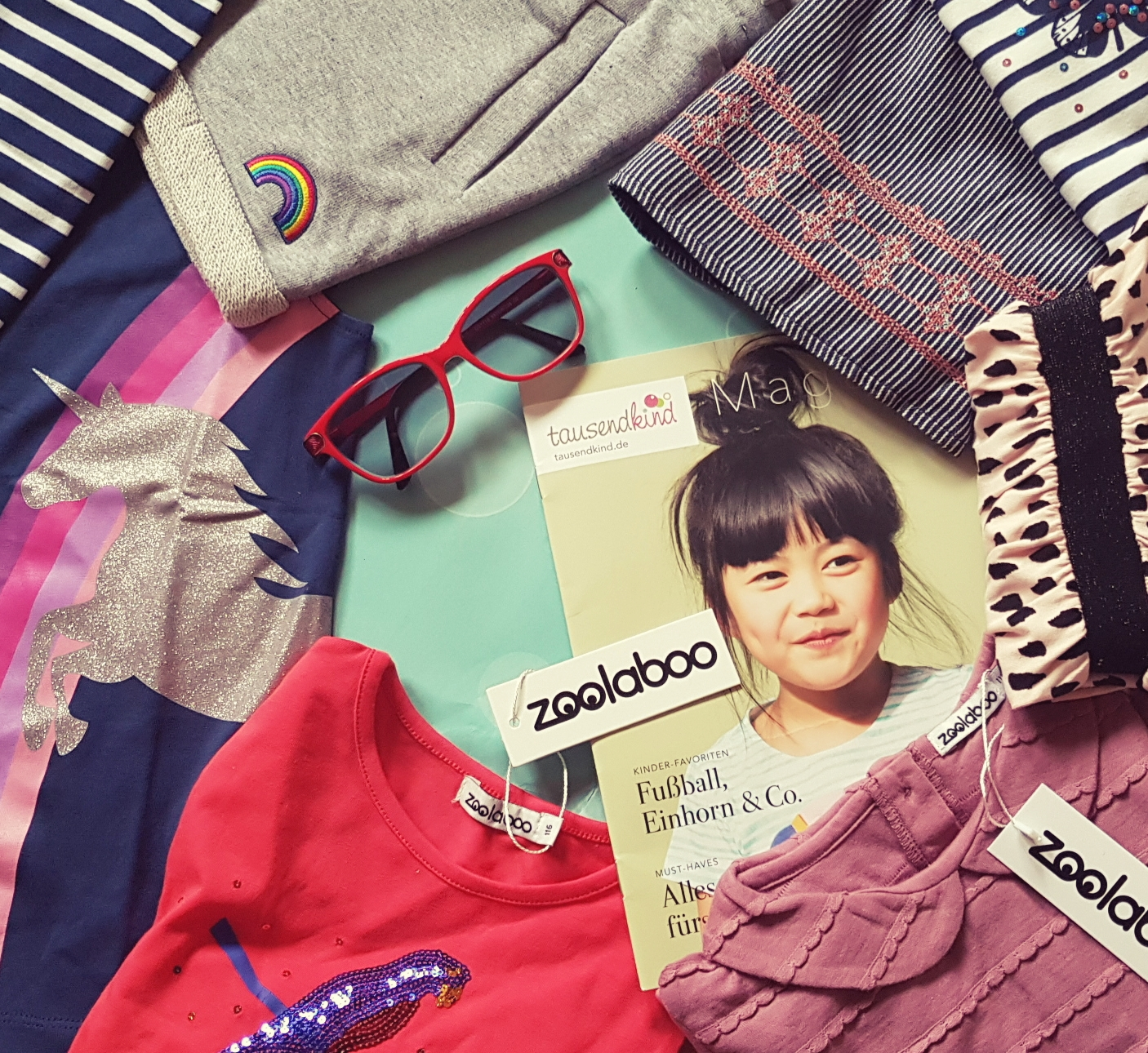 Zoolaboo Kindermode Look Book Sweet Basics