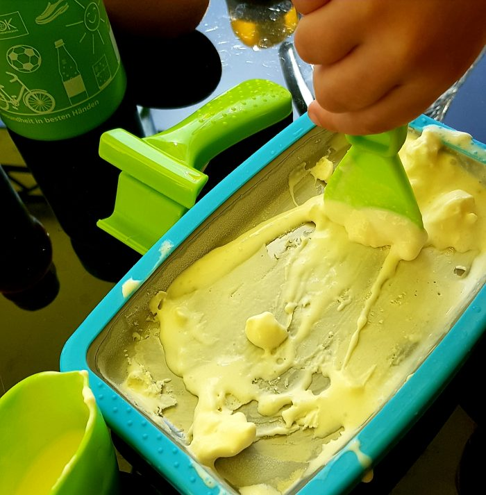 Eis Makern kühler holundersirup