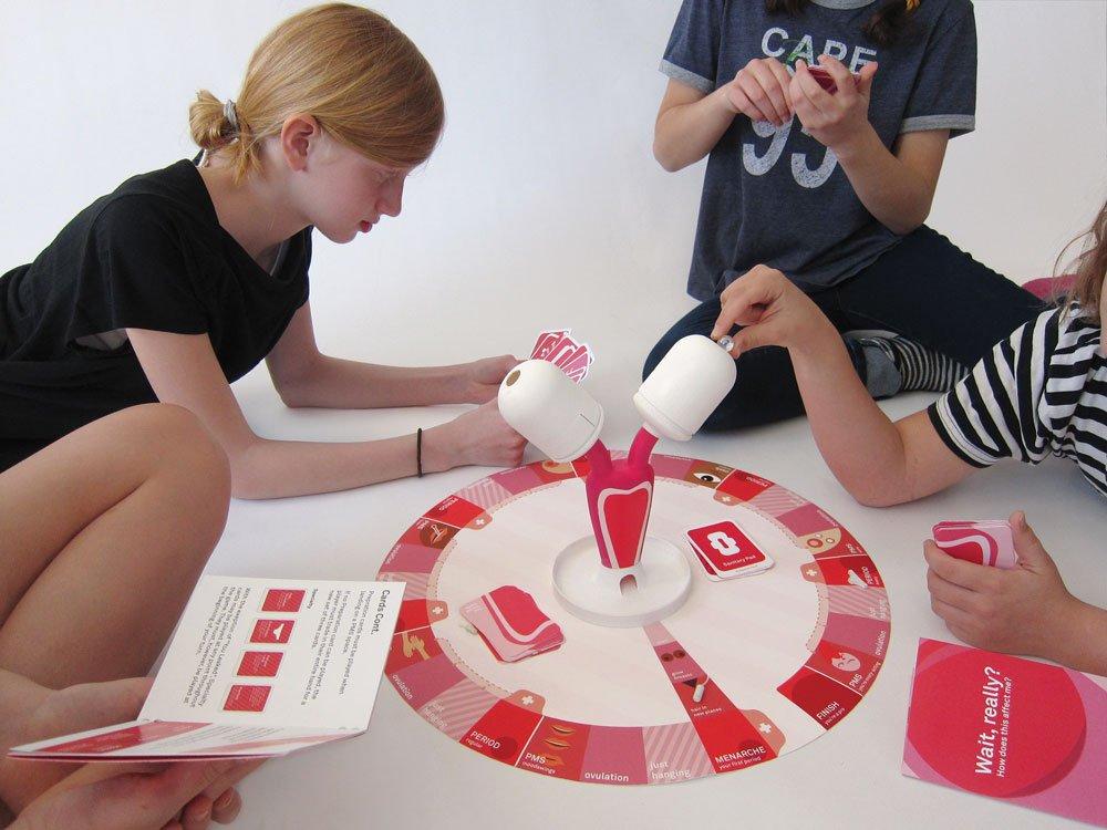 Spielen die Menstruation verstehen