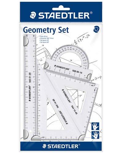 Schulvorbereitung Geodreieck Geometrie Set