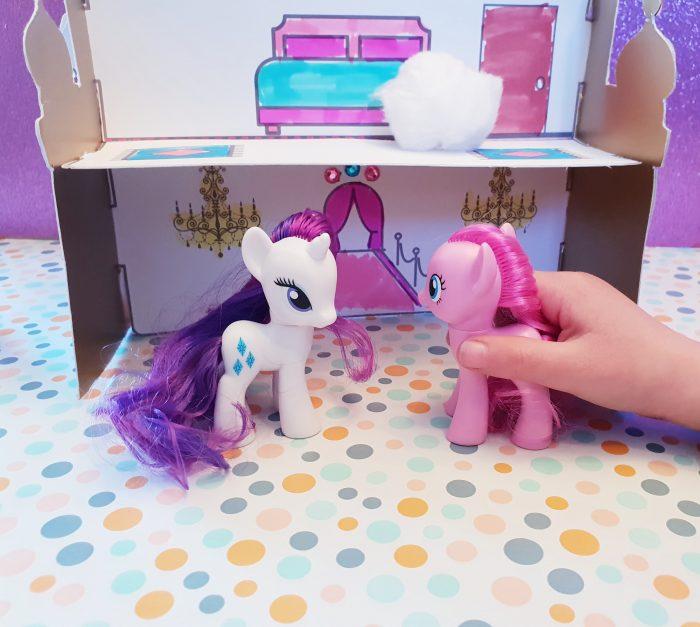 Papierschloss diy my little pony
