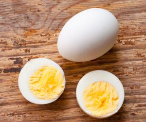 Snacks für Kinder und Babys Eier vorkochen