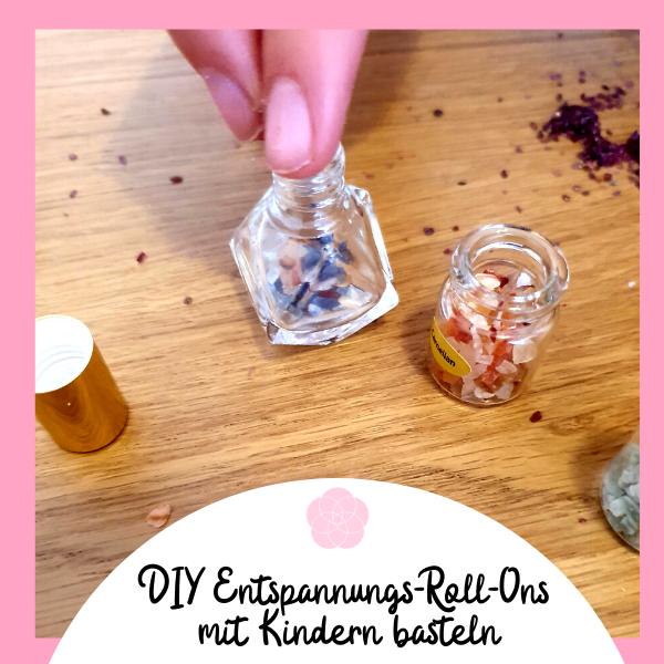 Edelstein Roll-On DIY Aromatherapie Entspannung